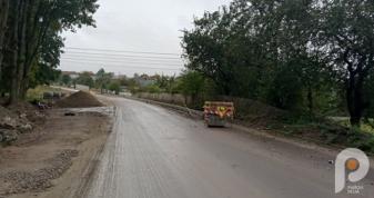 Як у Клевані ремонтують дорогу