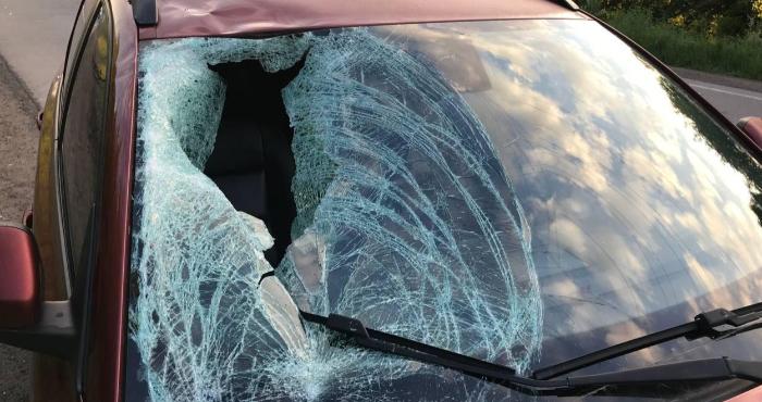 Авто, яке збило велосипедиста