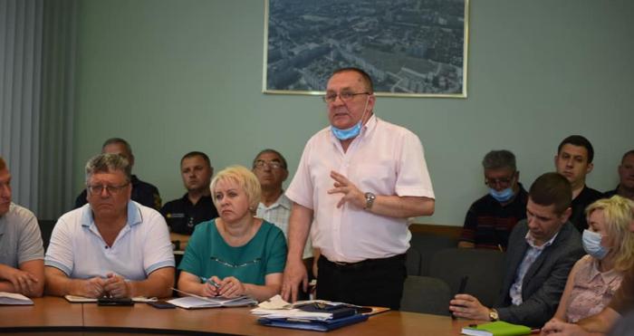 Звсідання комісії ТЕБ та НС щодо ситуації на Рівнеазоті
