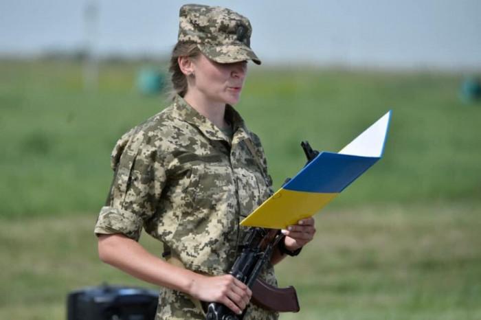 Соломія Бобровська склала військову присягу