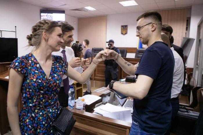 Соломія Бобровська та Сергій Стерненко