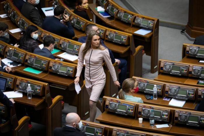 Соломія Бобровська у Верховній Раді