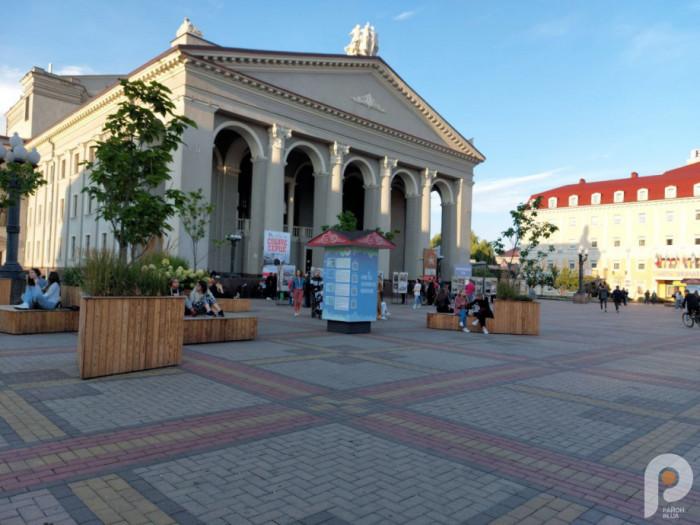 Експозиція на Театральній площі
