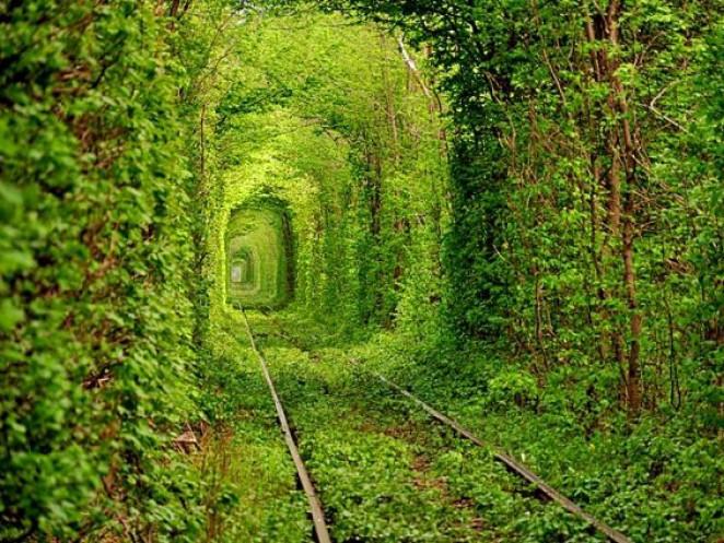 Тунель кохання у Клевані