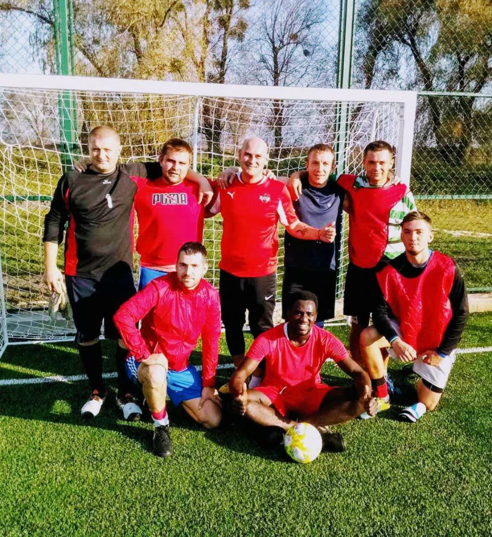 Збірна команда з мініфутболу. Фастина гравців - представники «Крока»